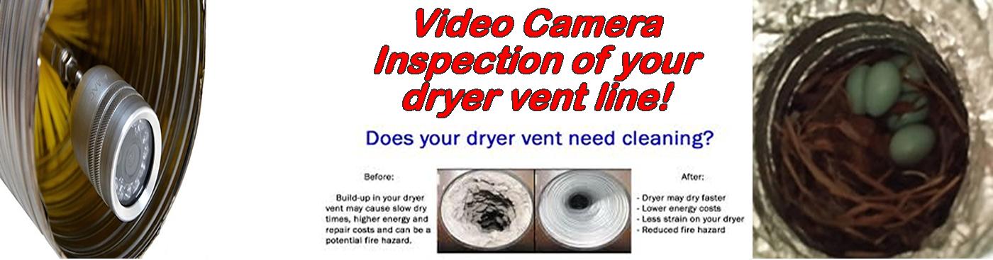 Dryer Vent Camera